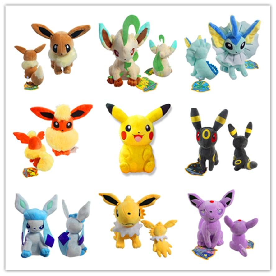 Pikachu Yokai ty Beanie Boos 12-20cm EEVEE Go Plush NEW Toy TOMY Soft Stuffed Animal Doll Evee стоимость