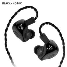 KZ ZS4 Earphone Sport Dynamic In-ear Music Noise-cancellation With Microphone for Mobile Phone Xiaomi hwawei