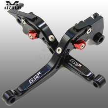 CNC Aluminum Motorcycle Brake Clutch Lever Adjustable Extendable Levers FOR BMW G310R G310 R G 310 310R 2017 2018