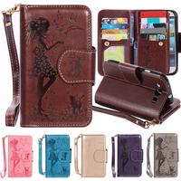 Luxury Wallet Case Flip Cover For Samsung Galaxy S3 Leather Case Silicone Phone Case For Samsung