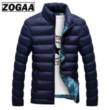 ZOGAA Winter Men Jacket 2019 Brand Casual Mens Jackets and Coats Thick Parka Outwear 6XL Male Clothing