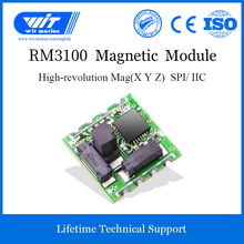 WitMotion RM3100 Military grade Magnet Field Sensor,High Precision Magnetometer,Digital Electronic Compass for Arduinos and More