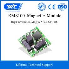 WitMotion RM3100 klasy wojskowej magnes czujnik pola, wysoka precyzja magnetometr, cyfrowy elektroniczny kompas dla arduino i nie tylko