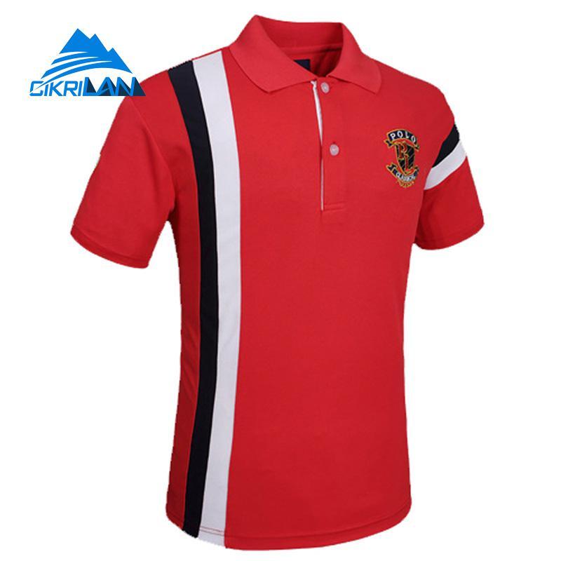 2017 Mens Summer Quick Dry Breathable Outdoor Sports Climbing Running Polo Shirt Hiking Camping T Shirt Men Short Sleeve Camisa
