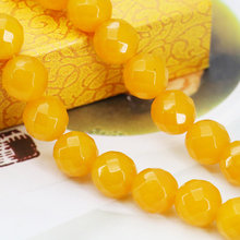 Semi Finished Stones Cutting Angle Crafts Loose Chalcedony Beads Gem Stone Faceted Jewelry Making Design 12 14mm Accessory Parts