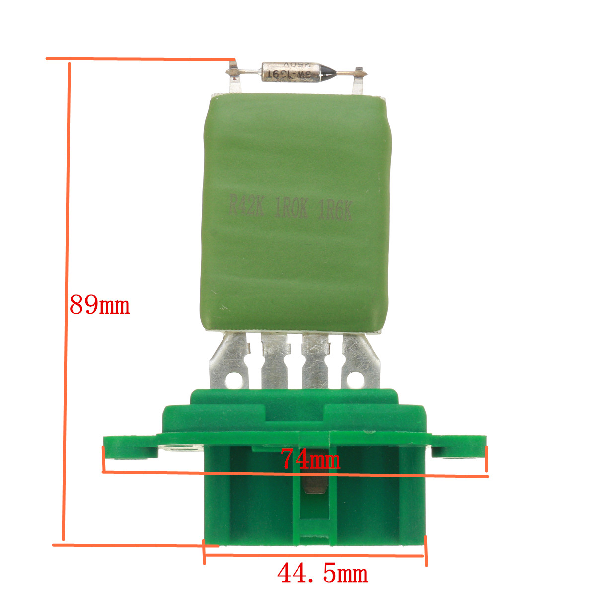 Heater Blower Motor Fan Resistor For Fiat 500 Panda Punto Seicento Fuse Box Guide Doblo Ducato 46721213 46723713 71732250 46722909 In Car Switches Relays From