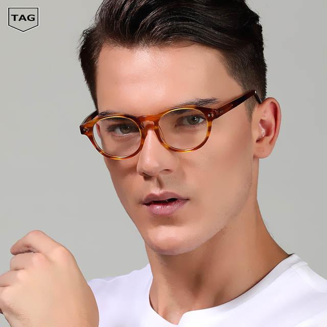bc20faed5 placeholder Novas tendências 2018 homens e mulheres Marca Retro quadros de Óculos  óculos de miopia armações tag