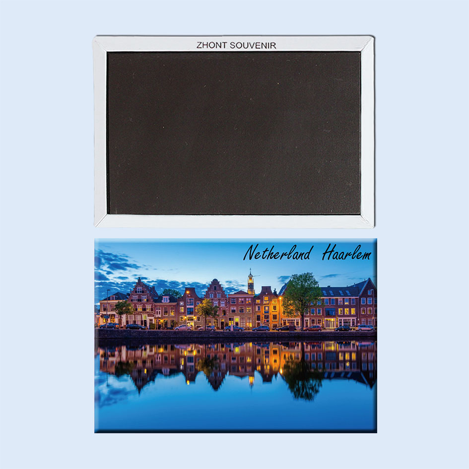 Haarlem, Netherlands,Spaarne river waterfront 22388 gift for friend.Souvenirs of Worldwide Tourist; Home Furnishing decoration. image