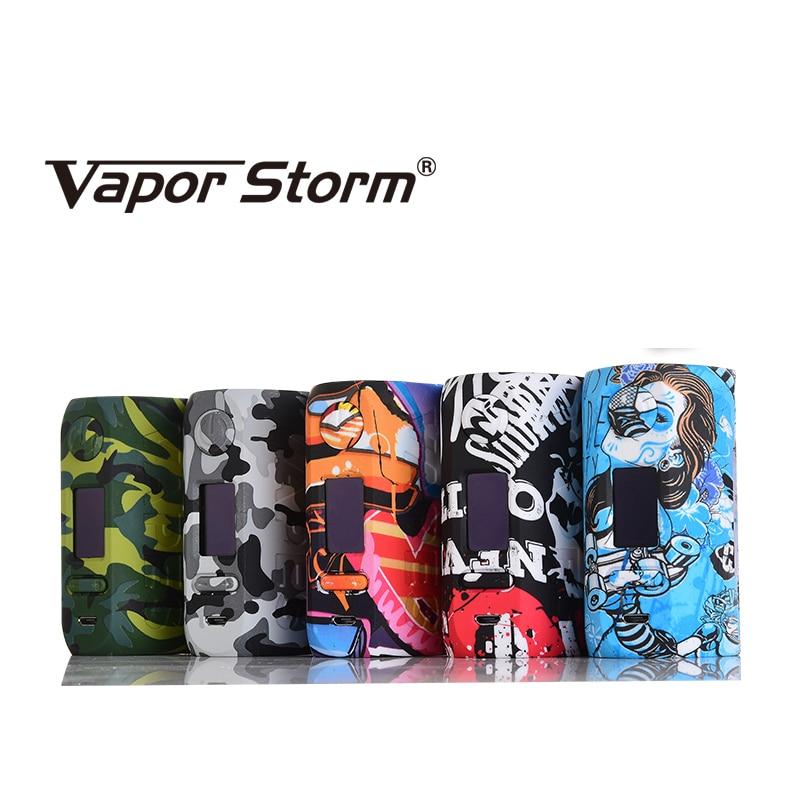 D'origine Vapeur Storm Storm 230 Bypass 200 w VW TC Boîte Mod Puma Mod Vapes Double 18650 Batterie Cigarette Électronique vs Wye 200 w