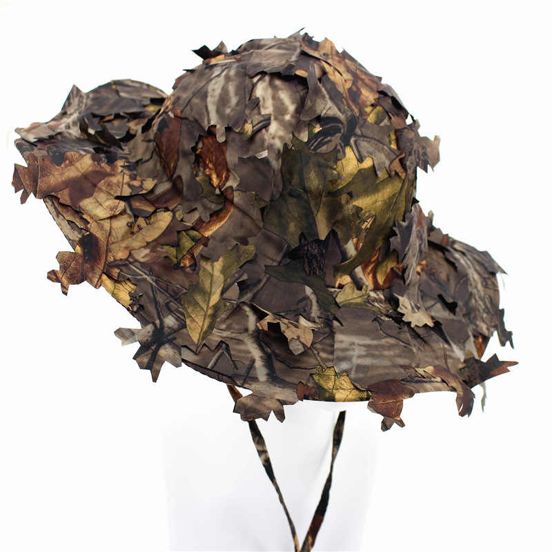 49d568a1a5a Bonnie Hat Sniper Tactical Caps Military Hunter Fisherman Bucket Hat  Camouflage Shooting Gorras Special Forces SWAT