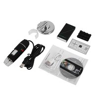 WiFi Digital Microscope 8 LED Two in one USB Endoscope Camera Microscopio 500X Stereo Electronic Magnifier Plug and Play