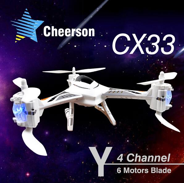 Cheerson CX-33 CX33 CX33C CX33S CX33W 720P Drones With Camera HD 4CH 6-axis 2.4GHz rc helicopter quadcopter professional drones drones cd