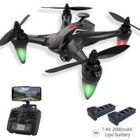 Global Drone GW198 5G WiFi FPV Brushless Motor RC Quadrocopter GPS Dron Hover Drones Follow Me Drone with Camera VS H501S Bugs 2