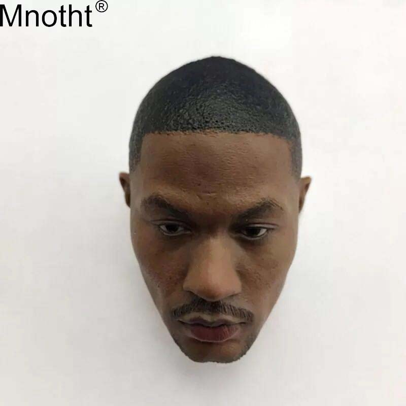 Mnotht Male Soldier Toy 1/6 NBA Star Bulls Ross Calming Head Carvings Model Accessory for 12in Action Figure Collection Gift ma фанатская атрибутика other nba exclusive collection logo