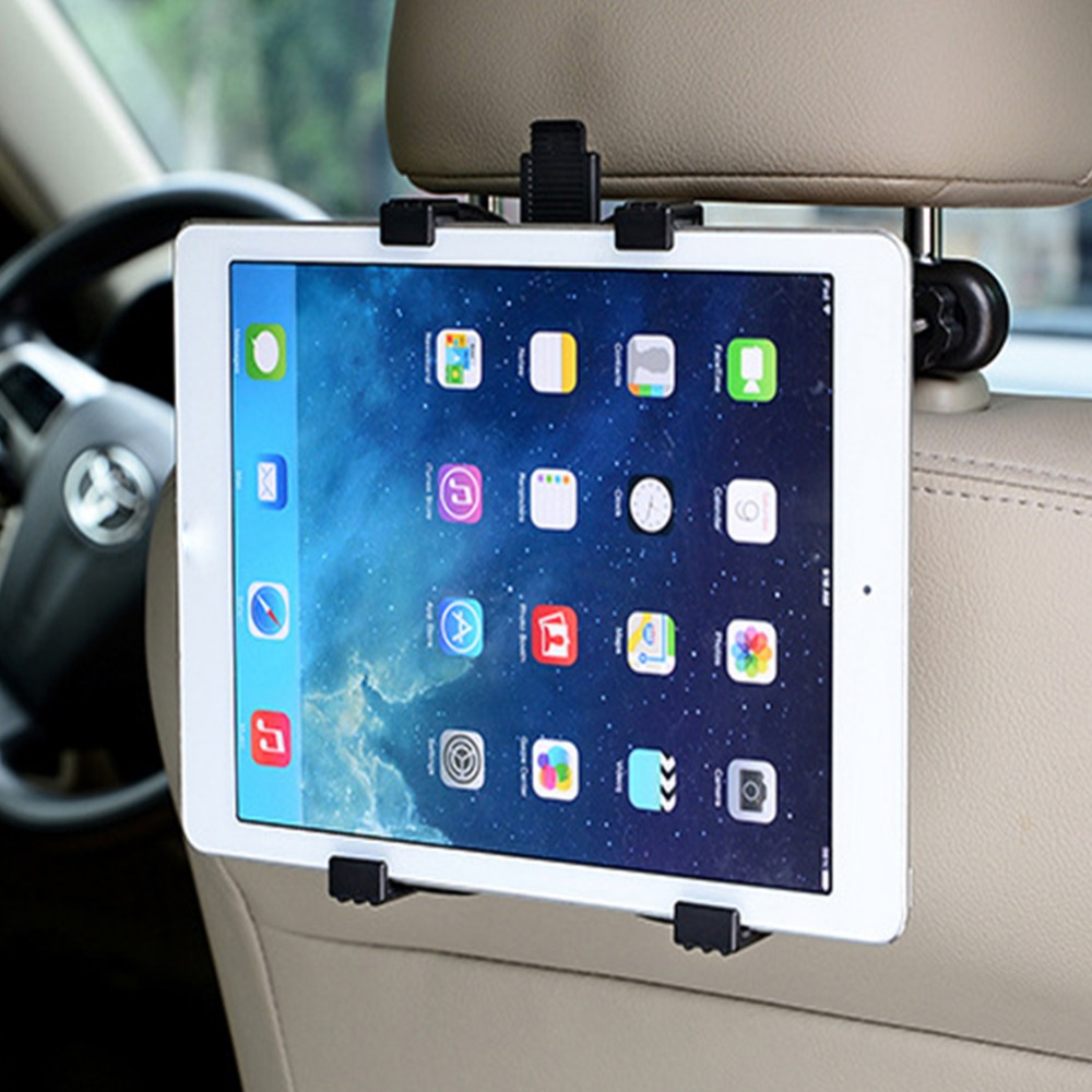 Universal Car Seat Mount Telescopic Tablet Holder Bracket Clamp Rack For IPad For Car