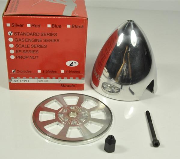 """4 cal 4 """"/102mm specjalne wiercone CNC aluminium Spinner Standard dla 2 ostrza w Części i akcesoria od Zabawki i hobby na title="""