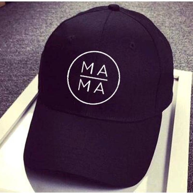2018 American Canada MAMA Baseball Cap MAMA Trucker Hat Black Snapback  Gorras Bone Mother Mom Life Hat Outdoor Leisure Casquette-in Baseball Caps  from ... 6962d6b2a428