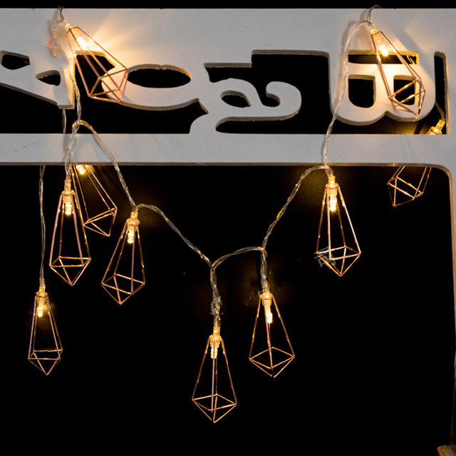 Battery powered indoor retro home decor geometric mini string light battery powered indoor retro home decor geometric mini string light led rope lamp starry party supplier mozeypictures Gallery