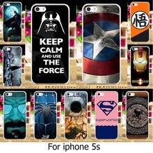 Taoyunxi Телефон чехол для iPhone 5 5S SE чехол для Apple iPhone5 iPhone5s случае Капитан Америка Супермен ТПУ Пластик крышка