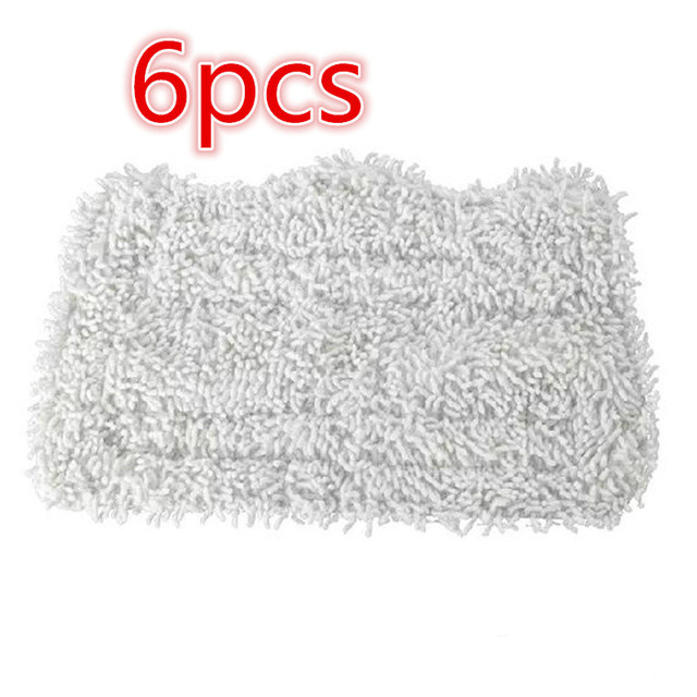 6pcs robot cleaner cloth neato mopping cloth microfibre Spray Mopping Cleaning Pads for  S3111 S1001 SP100K etc steam cleane