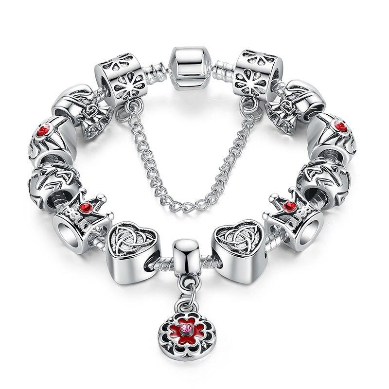 Vintage Heart Crown Bead...