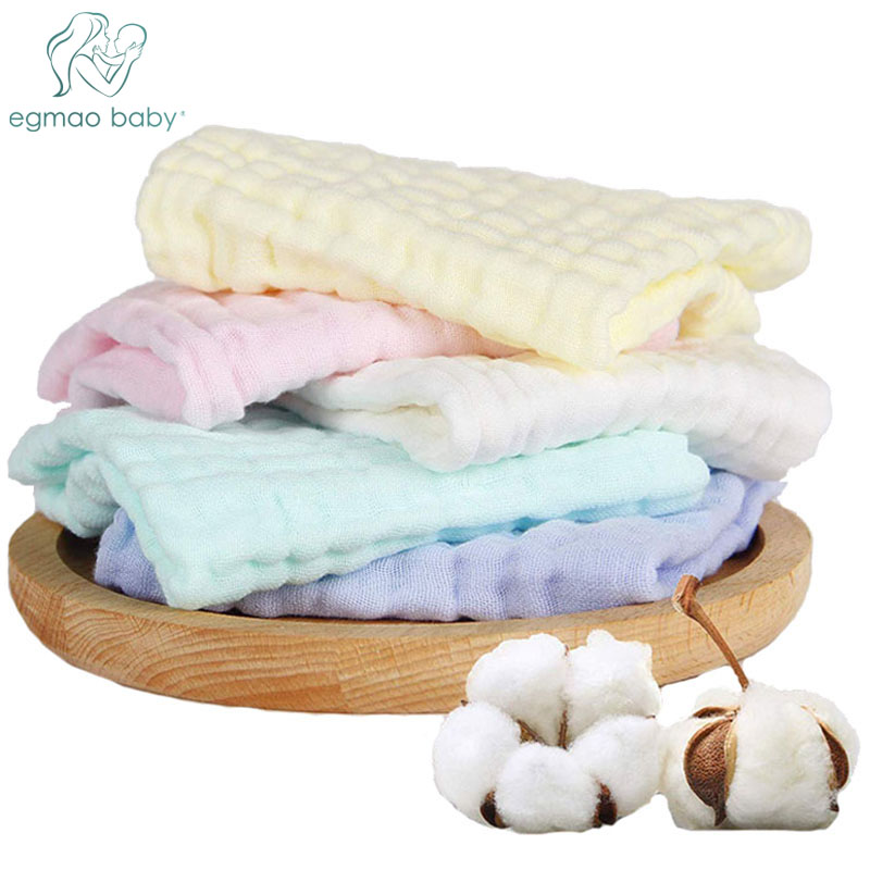US 50 OFF 3 Pack 10x10 Inches Muslin Washcloths Soft Newborn Baby Face Towel 100 Organic Cotton Baby Towels Baby Registry As Shower Gift In