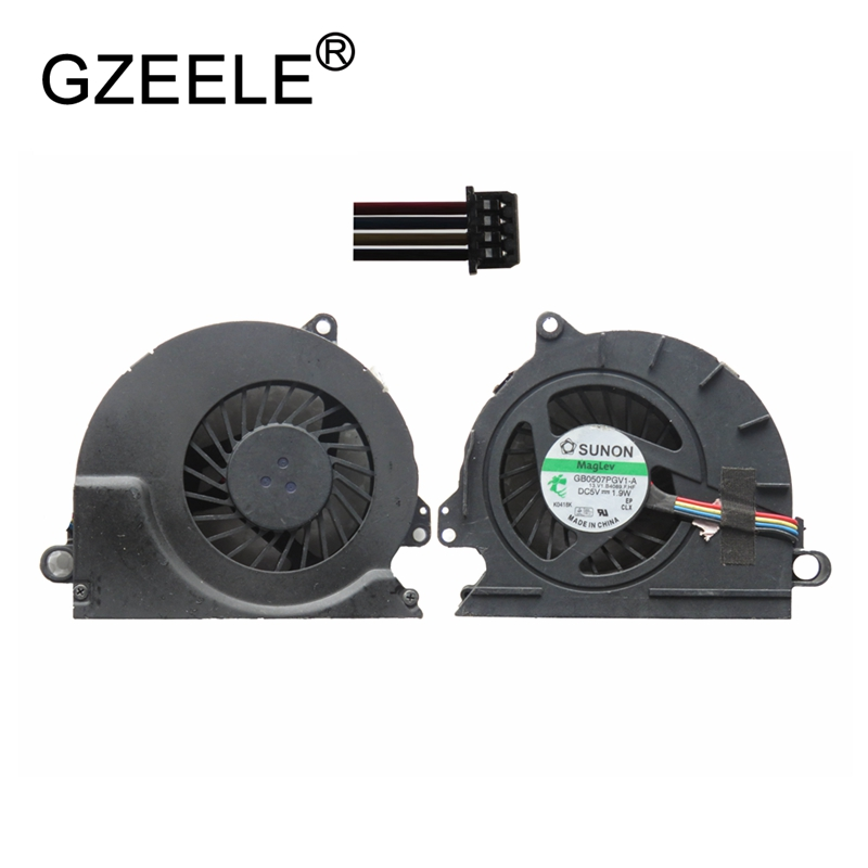 GZEELE new Laptop cpu cooling fan for HP for EliteBook 8440 8440P 8440W Notebook Computer Processor Cooler 594049-001 gzeele new laptop cpu cooling fan for samsung np530u3c 532u3c np535u3c np540u3c notebook computer replacements cpu cooling