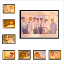 Get more info on the Posters Love Yourself Kpop Music Wall Stickers High Definition Home Decoration Home Art 42*30cm No frame