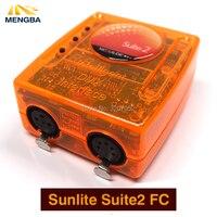 DMX-USD Suite2 FC Sunlite Controlador DMX 1536 Canal bom para o software de controle de Iluminação de Palco DJ Festa KTV LEVOU Luzes Do Palco