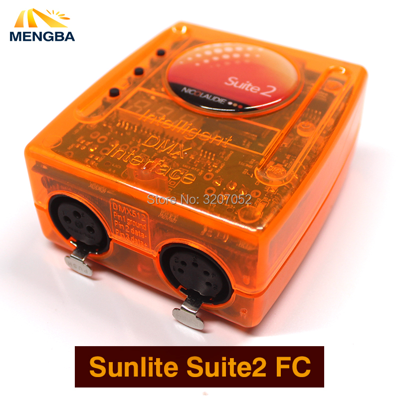 Sunlite Suite2 FC DMX-USD Controller DMX 1536 Channel good for DJ KTV Party LED Lights Stage Lighting Stage controlling software