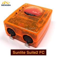Первоклассное Suite2 FC DMX-USD контроллер по протоколу DMX 1536 канала хорошо для DJ KTV для вечеринки светодиодные фонари сценического освещения сцены управления программным обеспечением