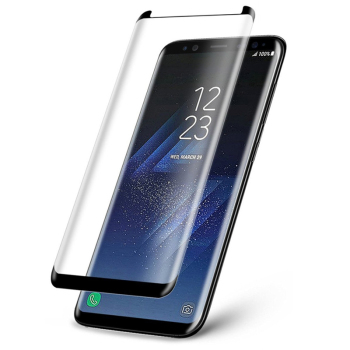 Case Friendly 3D Curved 9H Tempered Glass For Samsung Galaxy S8 S9 Plus S8+ S9+ Note 8 9 Screen Protector Film Not Full Cover image