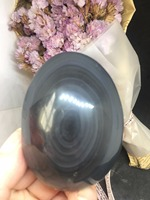 96 grams of natural beauty colored obsidian plays as a gift or a decorative item.