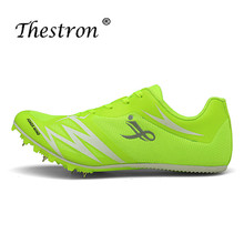 New Cool Unisex Spikes Shoes Men Health Athletics Running Spikes Men Women Track and Field Spikes Feiyue Shoes Anti-Slip Shoes