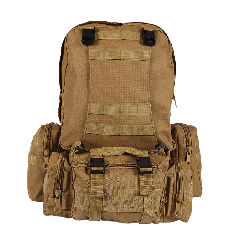 Outdoor Waterproof Backpack Molle 600D Nylon Assault Army Military Tactical Rucksacks Tr ...