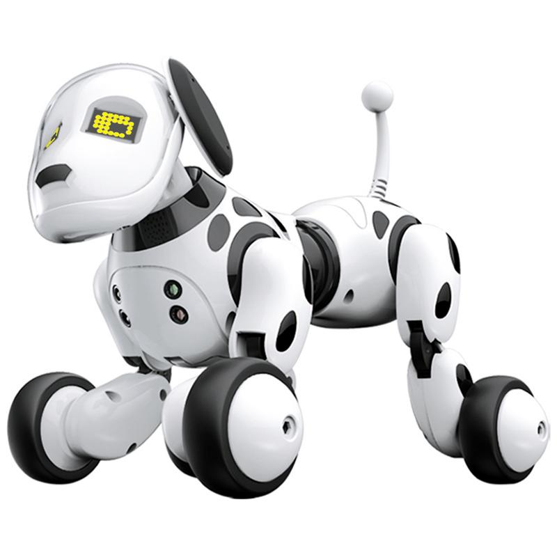 Electronic Pet DIMEI Wireless Remote Control Intelligent Robot Dog Children Smart Toys Talking Electronic Pet Toy Birthday Gift 2 4g wireless remote control smart dog electronic pet educational children s toy dancing robot dog without box birthday gift k10