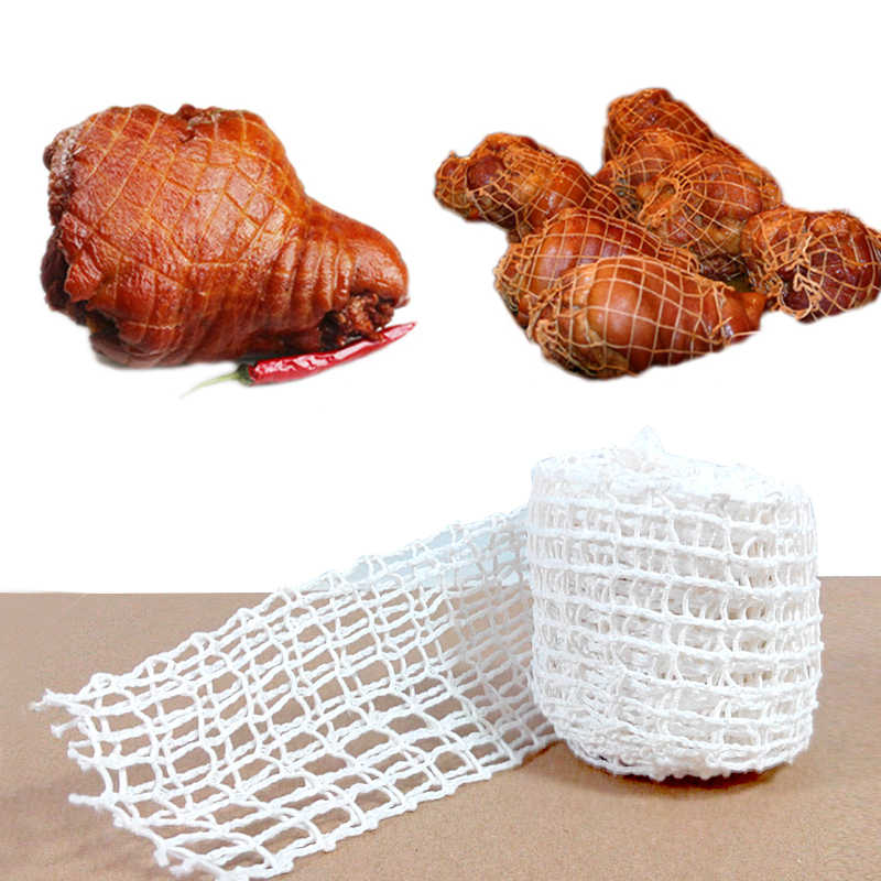 3 Meter Cotton Meat Net Ham Sausage Roll Net Hot Dog Net Butcher's Strings Sausage Packaging Tools Kitchen Meat Cooking Tool
