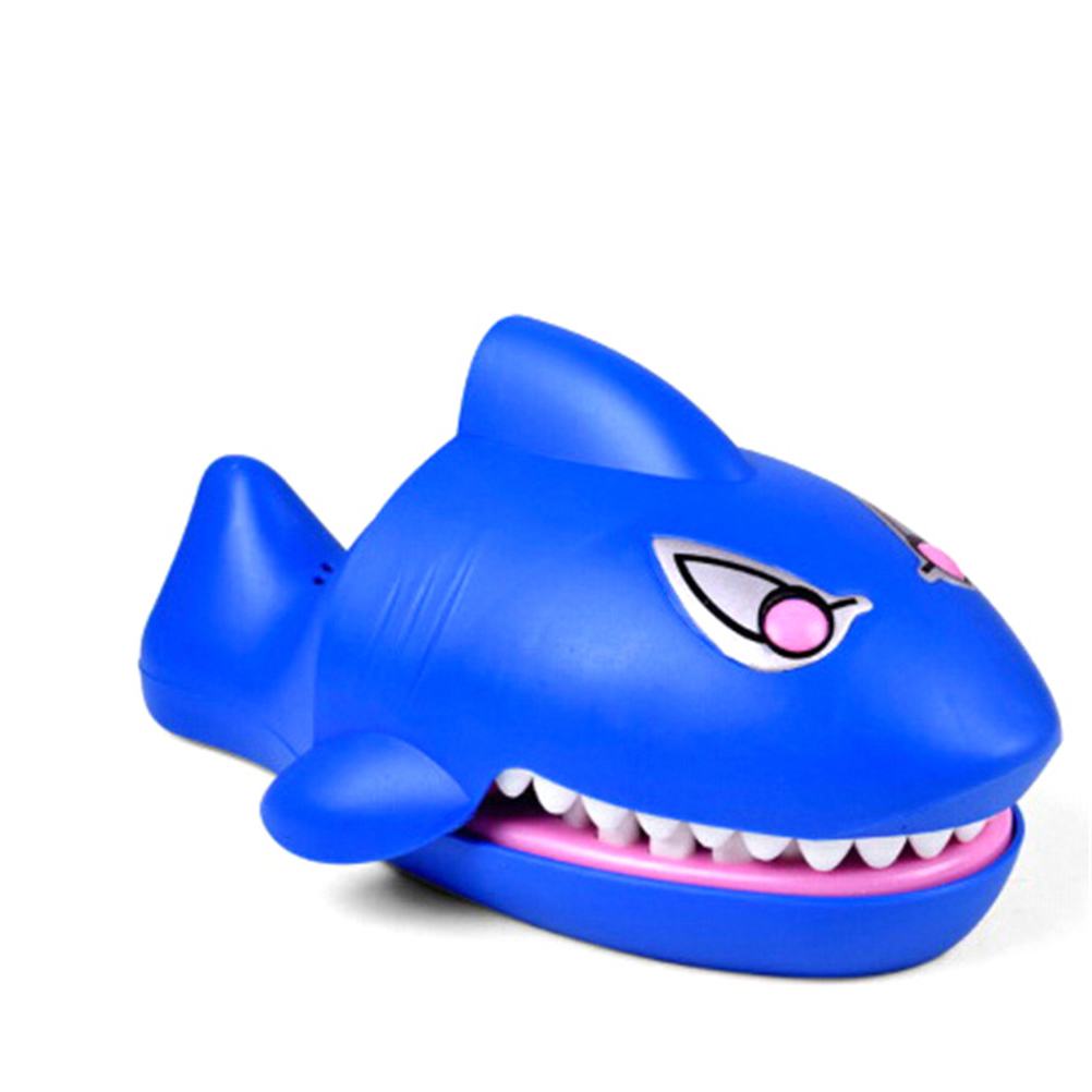 Mouth Dentist Bite Finger Cartoon Shark Toys Novelty Family Game Toy For Kids Children Gift Joking Funny Gag Toys image