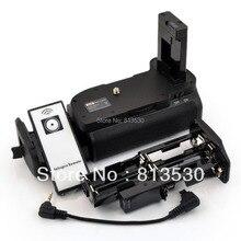 Батарейный блок D5100 D5200+ ИК-пульт дистанционного управления+ AA аккумулятор Solt для цифровой зеркальной камеры Nikon D5100 D5200