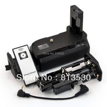 MB-D5100 D5100 D5200 Battery Grip + IR Remote Control+ AA Battery Solt for Nikon D5100 D5200 Digital SLR Camera.(China)