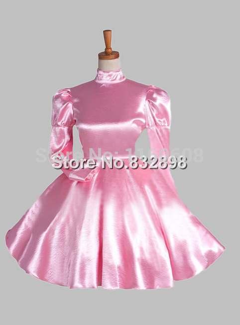 Pink Cosplay Pink England Victorian Era Court Princess Dress
