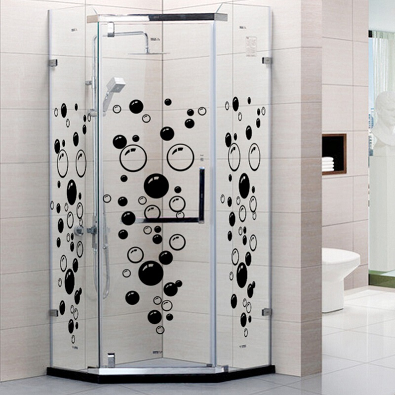 86 bubbles diy wall art bathroom shower tile removable home decor decal mural kid sticker 3
