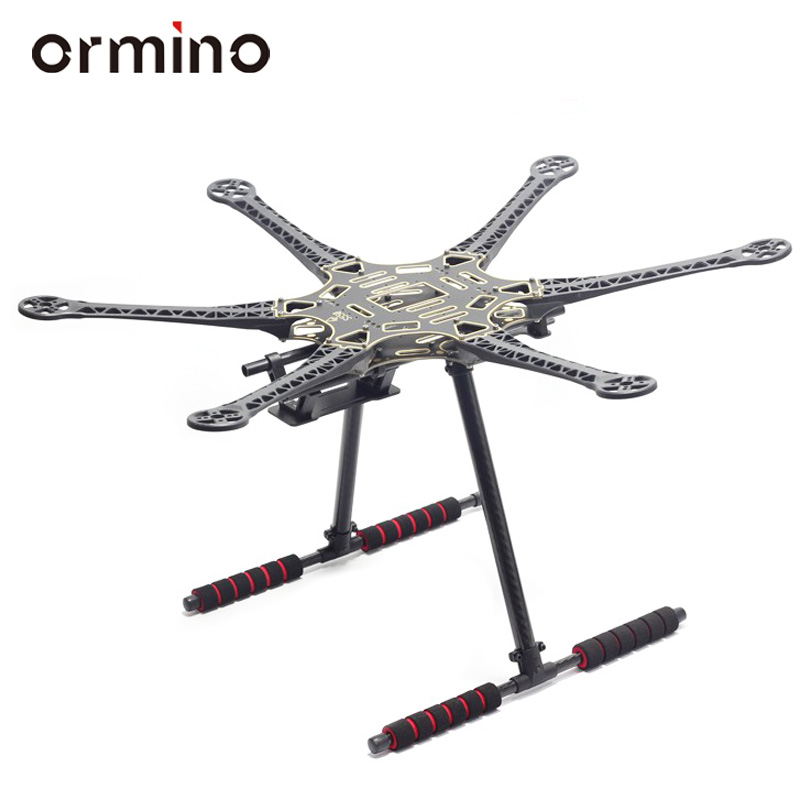 Ormino S550 Hexacopter Aeromodelismo Diy Multicopter Diy Drone Carbon Fiber Quadcopter Frame Quadrocopter Kit S550 Hexacopter diy fpv mini drone qav210 zmr210 race quadcopter full carbon frame kit naze32 emax 2204ii kv2300 motor bl12a esc run with 4s