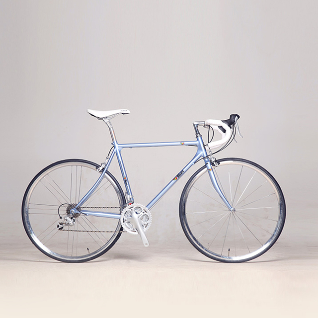 Chrome-molybdenum Steel frame Road Bicycle Fixed Gear Bike 48cm 52cm Complete Road Bike, Retro frame plating frameType