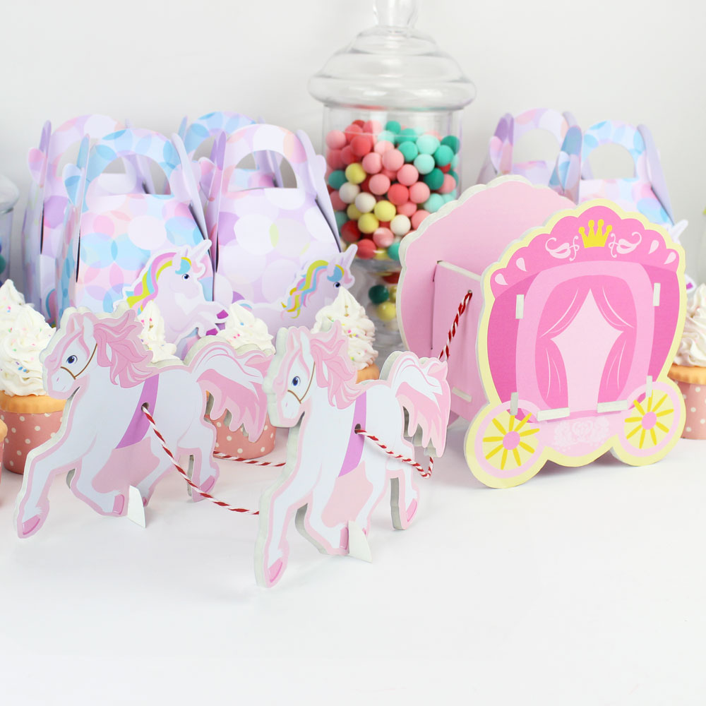 4da0926afdc Princess Carriage Candy Box Table Centerpiece Party Decoration Table Decor  Girl Party Supplies Birthday Party Candy Box