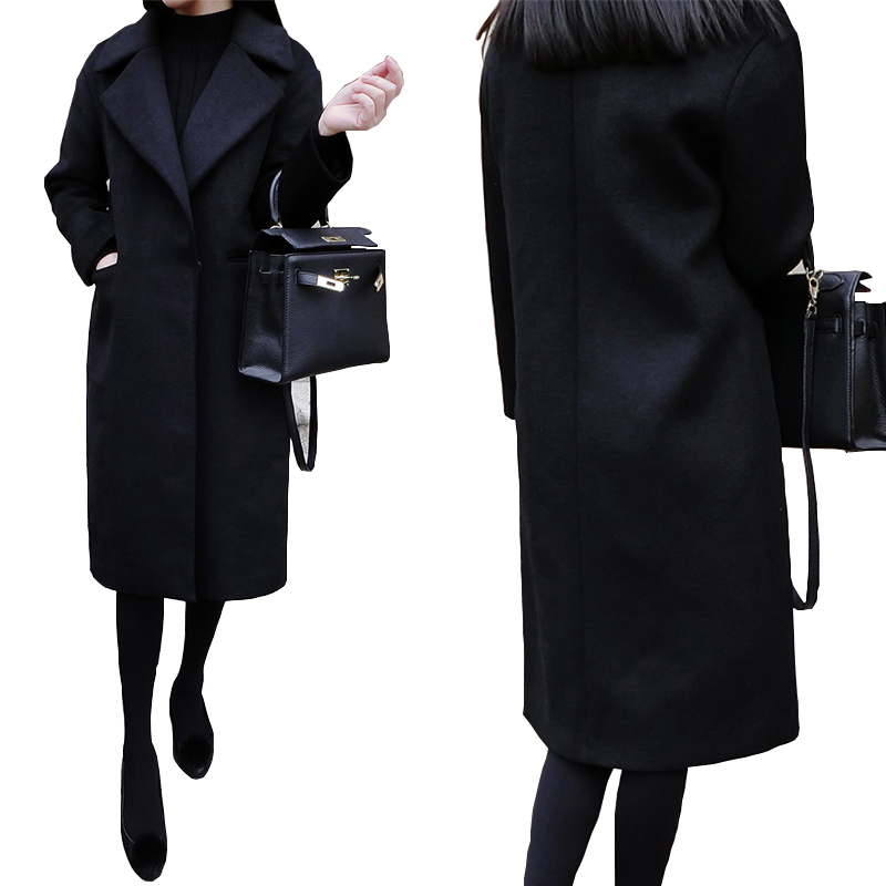 Popular Women's Coat Black-Buy Cheap Women's Coat Black ...