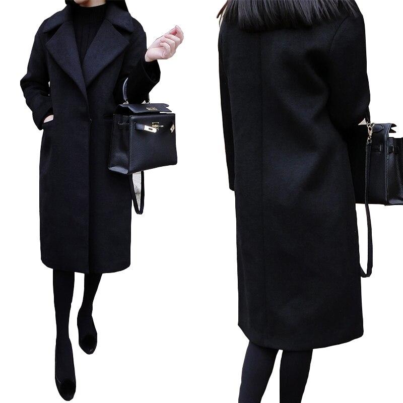 Online Get Cheap Womens Black Coat -Aliexpress.com | Alibaba Group