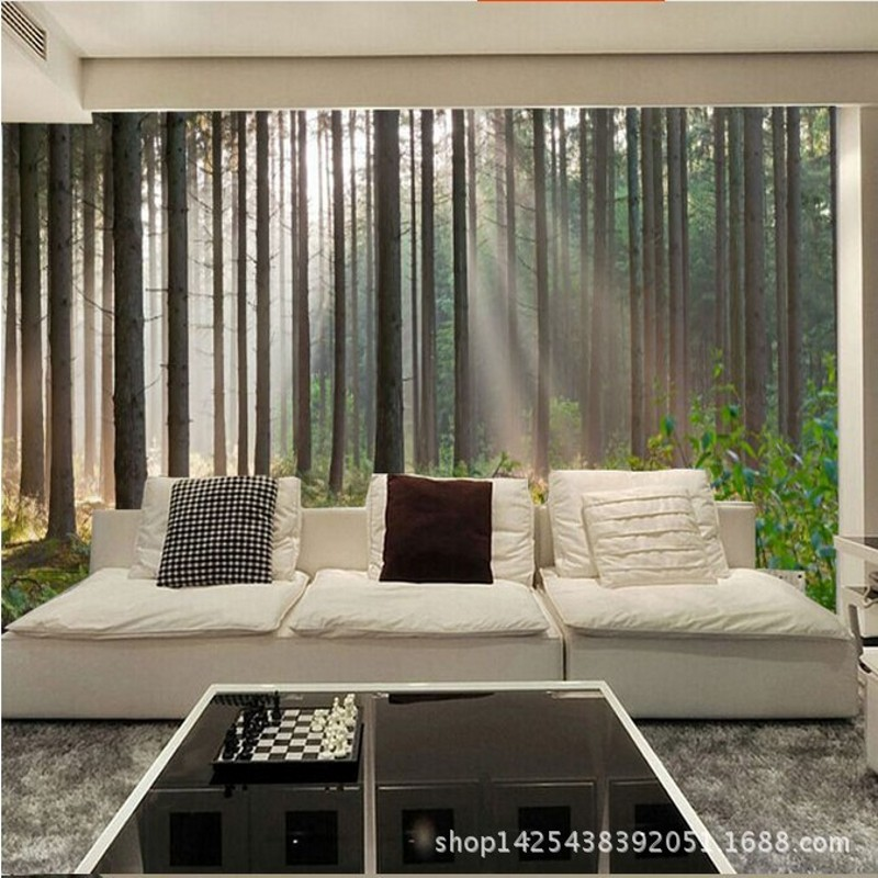Compare Prices On Forest Wallpaper Bedroom Online