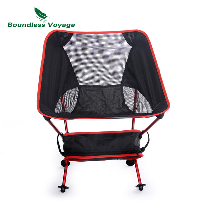 Boundless Voyage Outdoor Folding Chair Fishing Chair With Carry