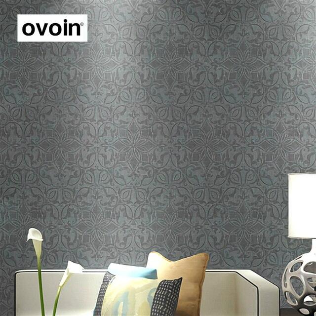 Metallic Silber Grau Tapete Moderne Wand Papier Für
